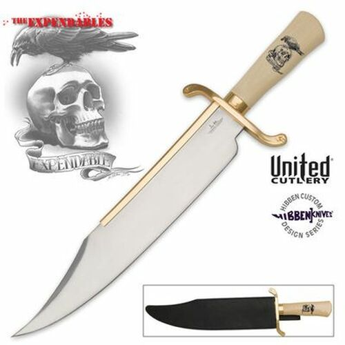 Gil Hibben Expendables Bowie Knife with Sheath