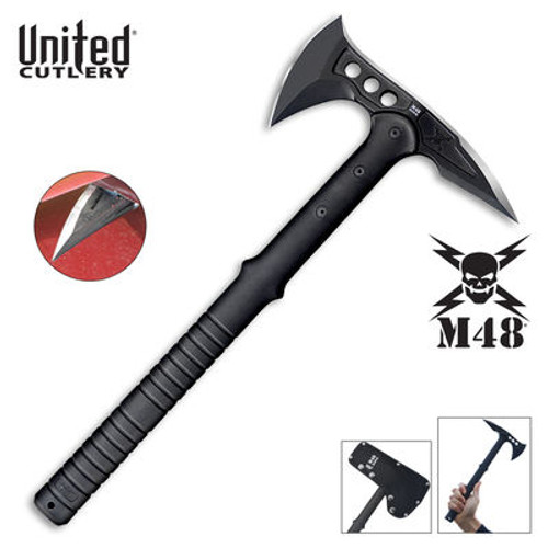 M48 Tactical Tomahawk Axe with Snap On M48 Sheath