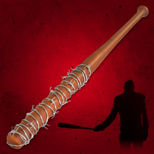 Lucille - Barbed Wire Wrapped Baseball Bat