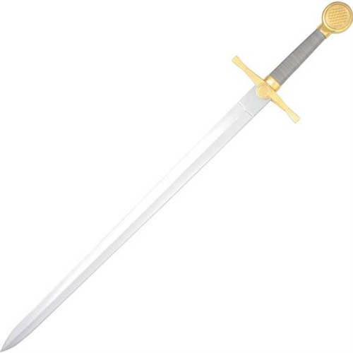 Medieval Sword with Wire Wrapped Grip