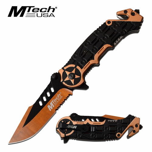 MTECH USA MT-A1008YL SPRING ASSISTED KNIFE