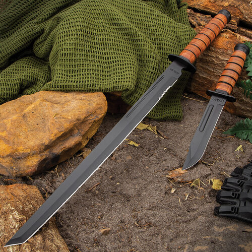 US 1942 Combat Fighting Knife And Sword Set
