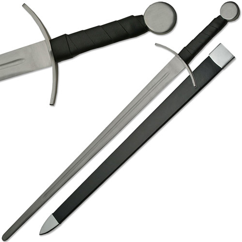 Type XIIa Knightly Sword Medieval Sparring Full Tang Blunt