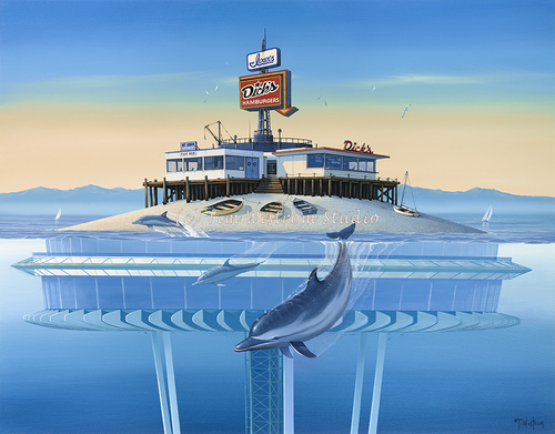 """""""Surf and Turf"""" Dolphins"""