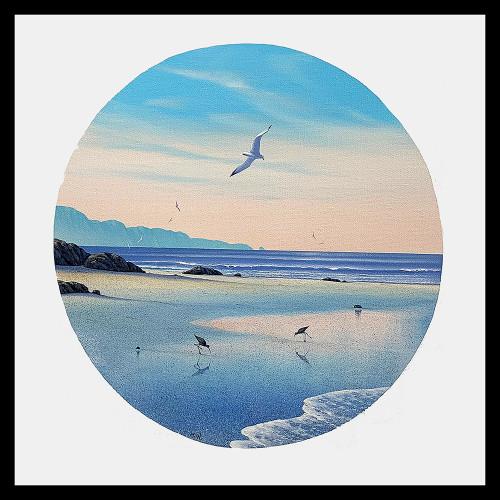 """""""Seabird's Paradise"""" Original Painting"""