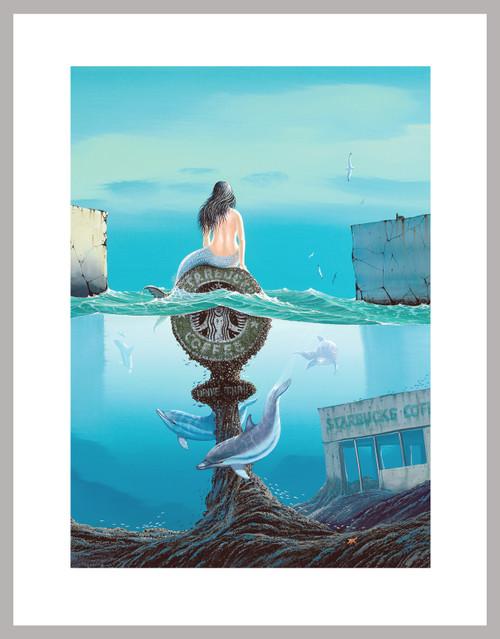 """""""Siren's Brew"""" Mini-Print"""