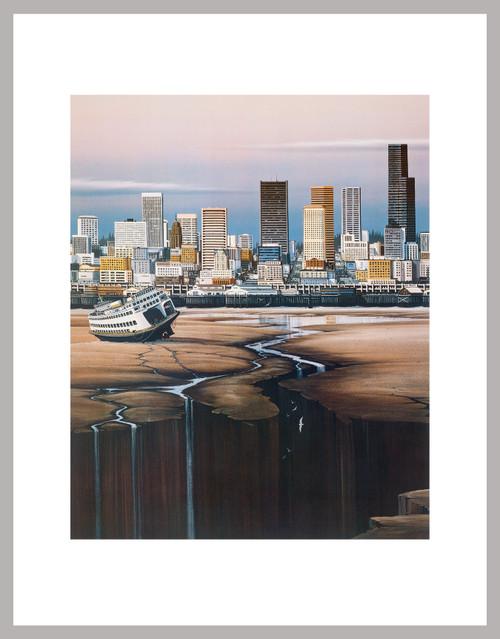 """""""Sea Escape"""" 1986, Mini Print"""