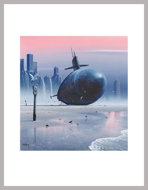 """Rust In Peace - Sub"" Mini Print"