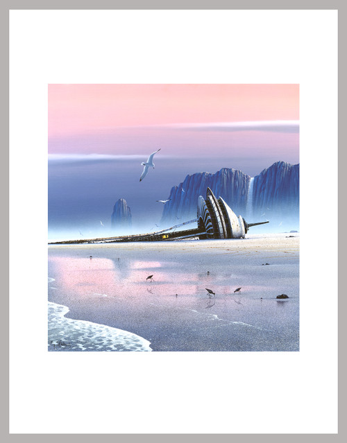 """""""Rust In Peace - Space Needle"""" Mini Print"""