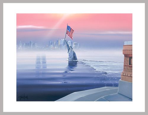 """Liberty Awake"" Mini Print"
