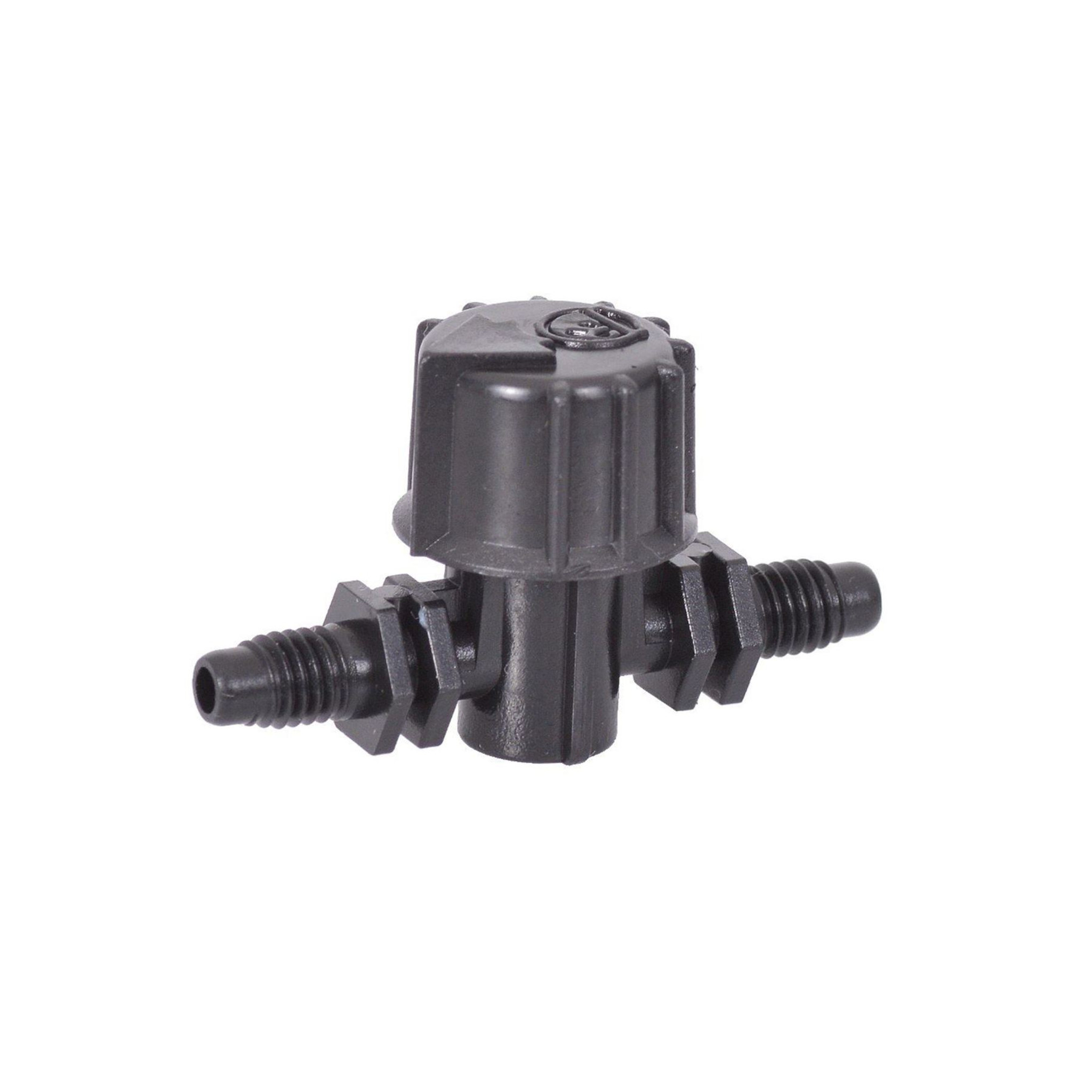 Antelco Adaptors threaded//barbed 4mm Single