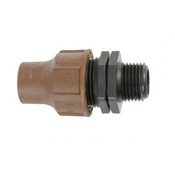 """Lock Type Male Connector 13mm 3/4"""""""