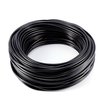 4mm Micro Irrigation pipe Hortafix 15M Black