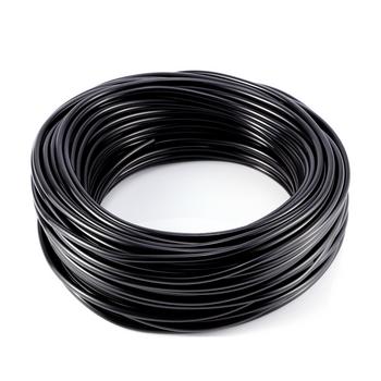4mm Micro Irrigation pipe Hortafix 25M Black
