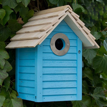 New England Nest Box - Blue