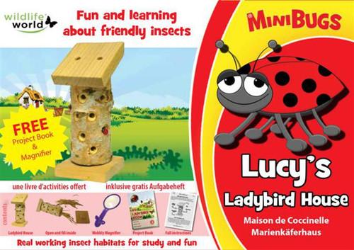 Mini Bugs Lucy's Ladybird House