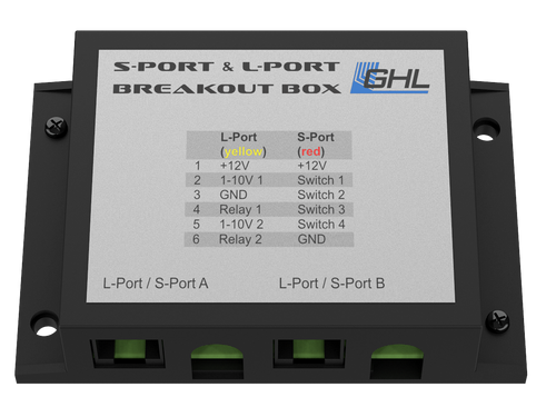 S-Port & L-Port Breakout Box (S-L-Port-BoB) - GHL