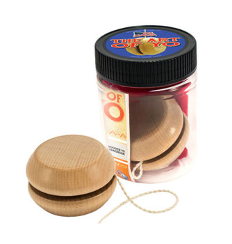 The Art of Yo Wooden Yo-Yo, Teal Pouch with Handbook Sealed/JAR, USA