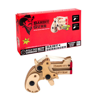 Bandit Guns Daisy Derringer Kit, Wood Finish