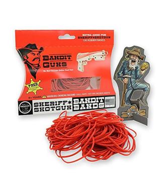 Bandit Guns Sheriff Shotgun Extra Ammo Craft Kit, Red