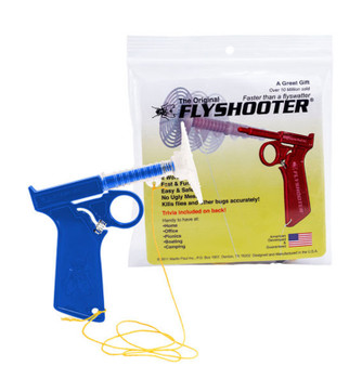 Flyshooter The Original Bug Gun, Fly Swatter/Fly Shooter/Fly Gun, Blue