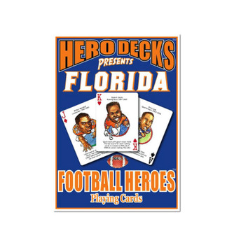 The Original Hero Decks University of Florida Football Heroes Playing Cards