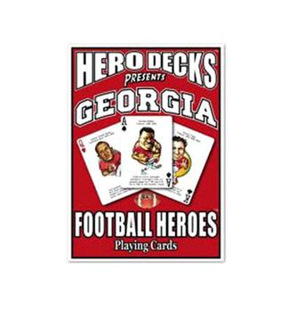 The Original Hero Decks University of Georgia Football Heroes Playing Cards