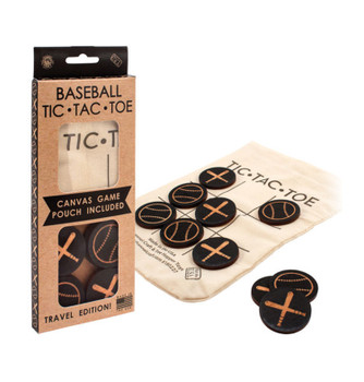 Baseball Tic-Tac-Toe To Go! Travel Edition Game