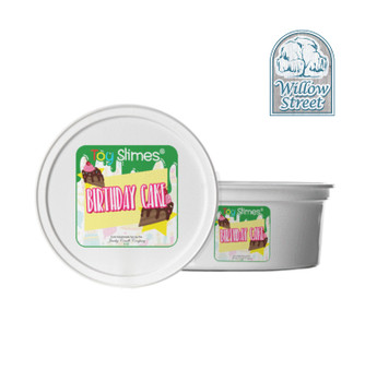 Birthday Cake Toy Slime Collection,Willow Street
