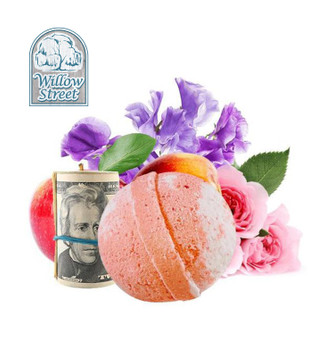 Sexy Little Thing , 7 oz Cash Bath Bomb, Real Money Inside! Willow Street
