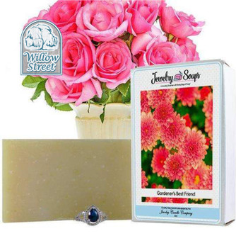 Scented Gardener's Best Friend ,Jewelry Soap, Willow Street