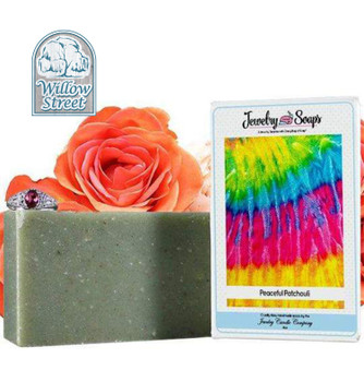 Scented Peaceful Patchouli ,Jewelry Soap, Willow Street