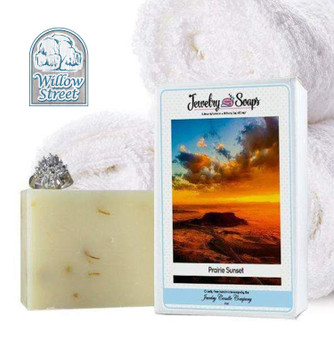 Scented Prairie Sunset  ,Jewelry Soap, Willow Street