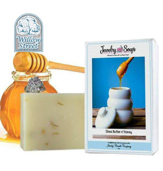 Scented Shea Butter N' Honey ,Jewelry Soap, Willow Street