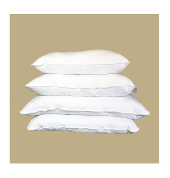 Malpaca Pure Alpaca Pillow, Queen Size Medium Fill All Natural Fiber Pillow