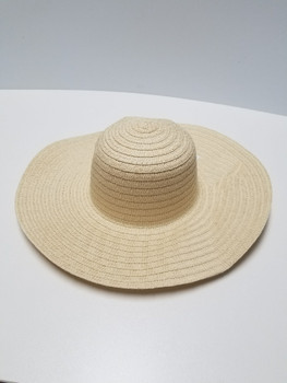 Sun Hat Beige Wide Rim