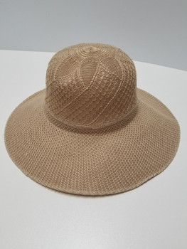 Coffee Sun Hat, Muffian Top