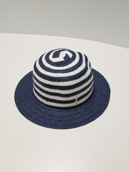 White and black Sun Hat