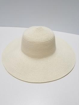 Cream Sun Hat Full Brim Hat