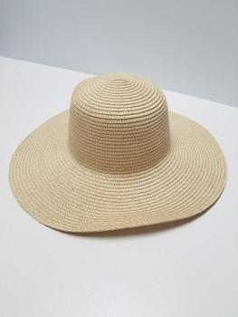Khaki Sun Hat, Slight Bend Brim