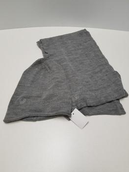 Grey Heart Arcrylic Cashmere Scarf