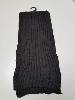 Black Thick Arcrylic Cashmere Scarf