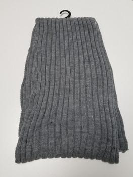 Grey Thick Arcrylic Cashmere Scarf