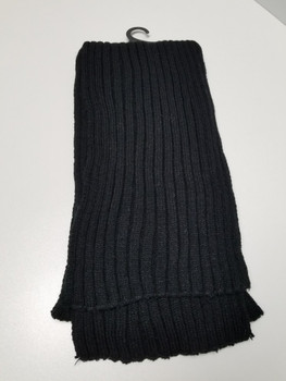 Black Thin Arcrylic Cashmere Scarf