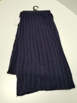 Dark Blue Thick Arcrylic Cashmere Scarf