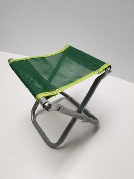 Green Portable Chair Mini Folding Seat, BBQ Stool