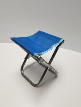 Blue Portable Chair Mini Folding Seat, BBQ Stool