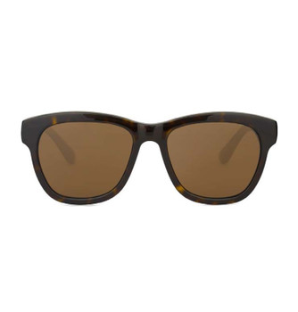 PITT, Tortoise Shell With Polarized Amber, High Fashion Italian Sunglasses