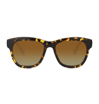PIZZ, Lively Tortoise With Polarized Gradient Amber, High Fashion  Sunglasses