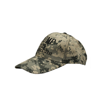 Keep America Great Trump 2020 Digital Green Camo Hat